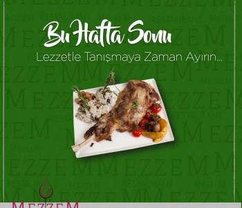 Mezzem Restaurant Sosyal Medya Çalışması