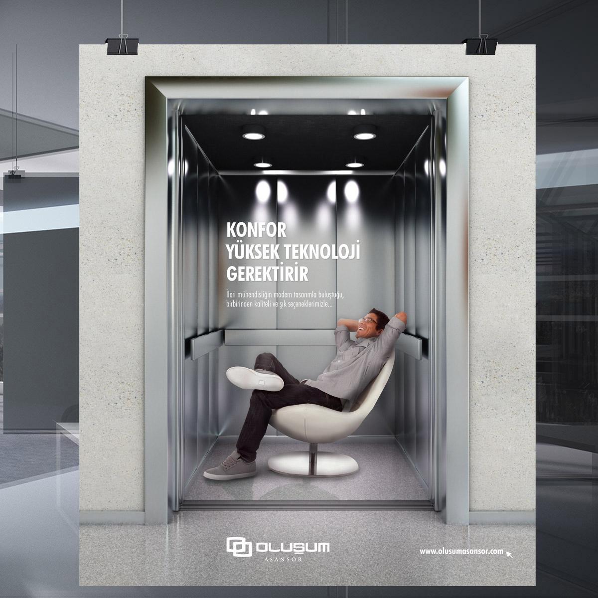 Oluşum Asansör
