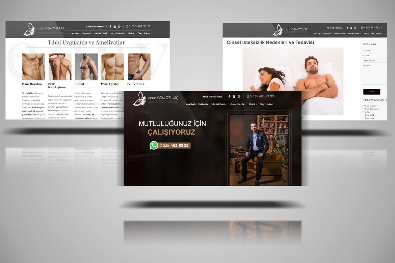 Cem Özlük Web Sayfası İçeriği