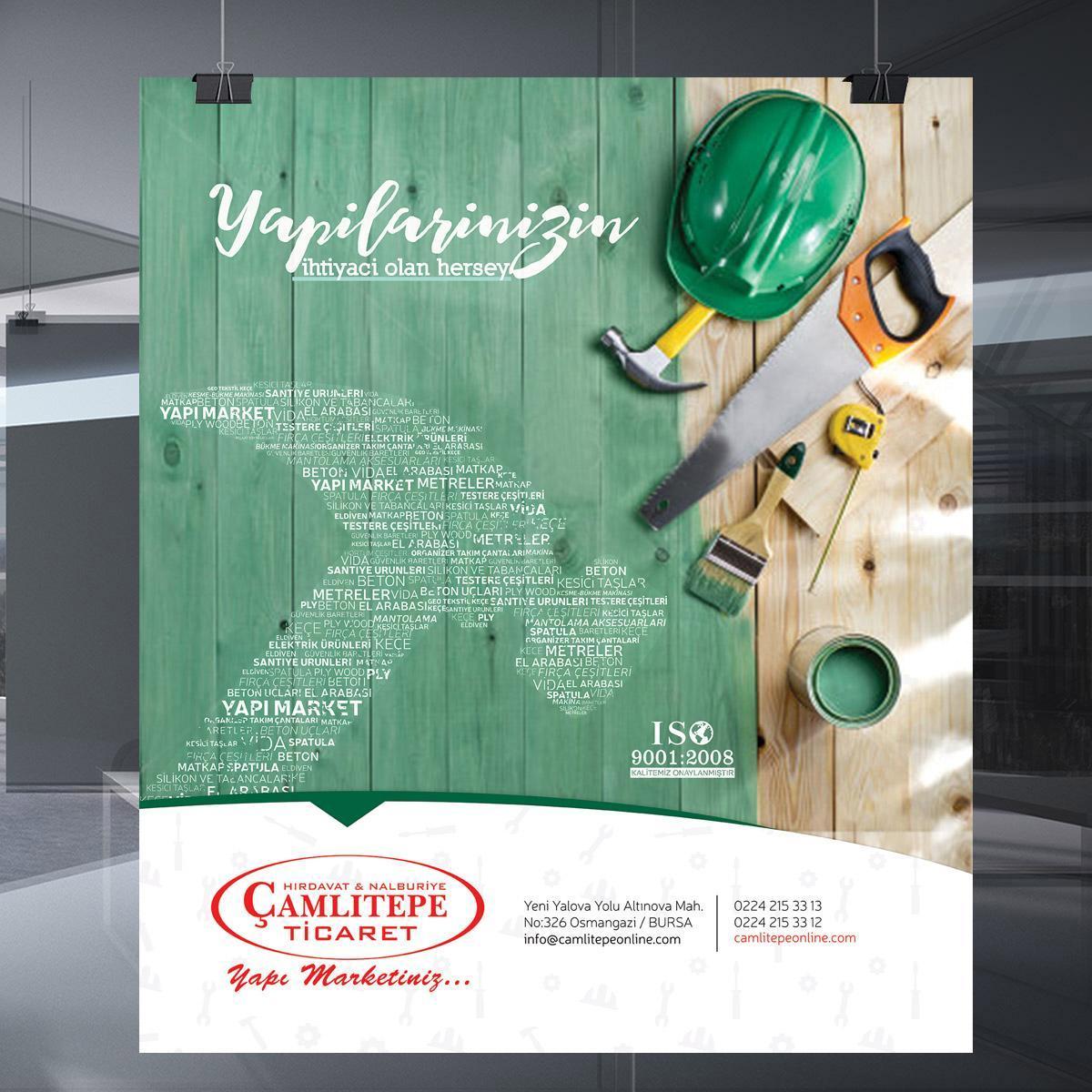 Çamlıtepe Ticaret Dergi İlanı Çalışması